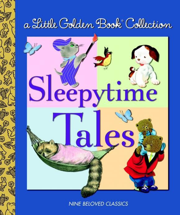 A Little Golden Book Collection: Sleepytime Tales коляска прогулочная baby care urban lite bc003 синий blue