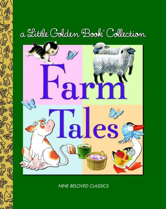 Little Golden Book Collection: Farm Tales maisy s farm sticker book