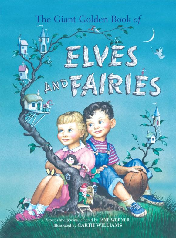 The Giant Golden Book of Elves and Fairies cicely mary barker flower fairies of the winter