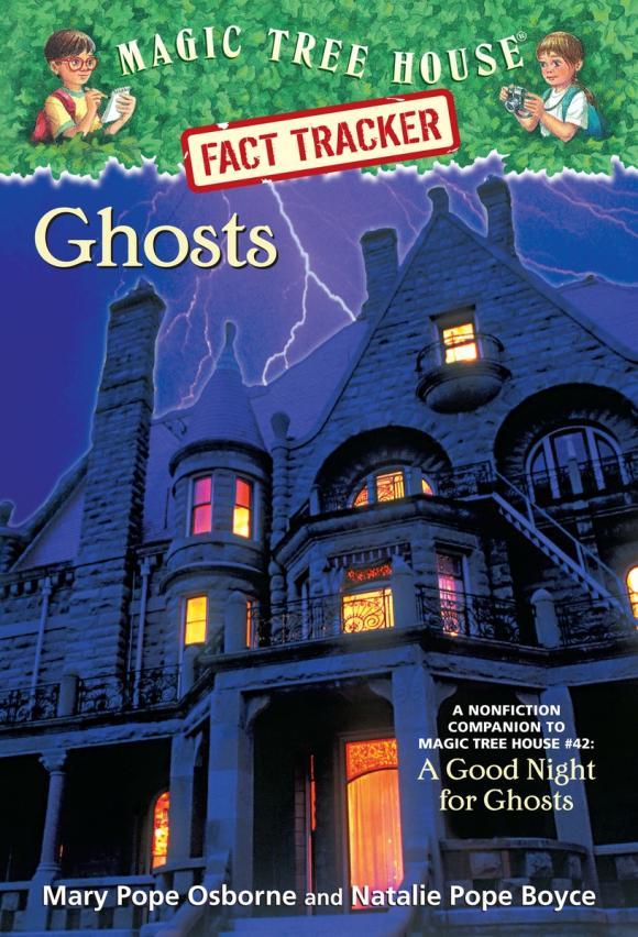 Magic Tree House Fact Tracker #20: Ghosts ящик для обуви magic house 8k13