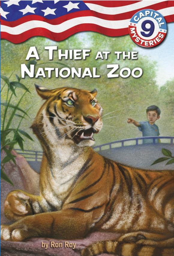 Capital Mysteries #9: A Thief at the National Zoo heart thief