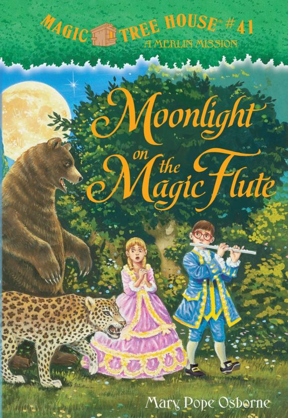 Magic Tree House #41: Moonlight on the Magic Flute the halloween tree