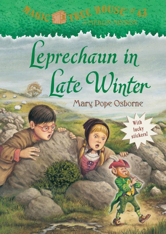 Magic Tree House #43: Leprechaun in Late Winter the canterbury tales a selection