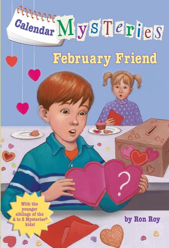 Calendar Mysteries #2: February Friend calendar mysteries 12 december dog
