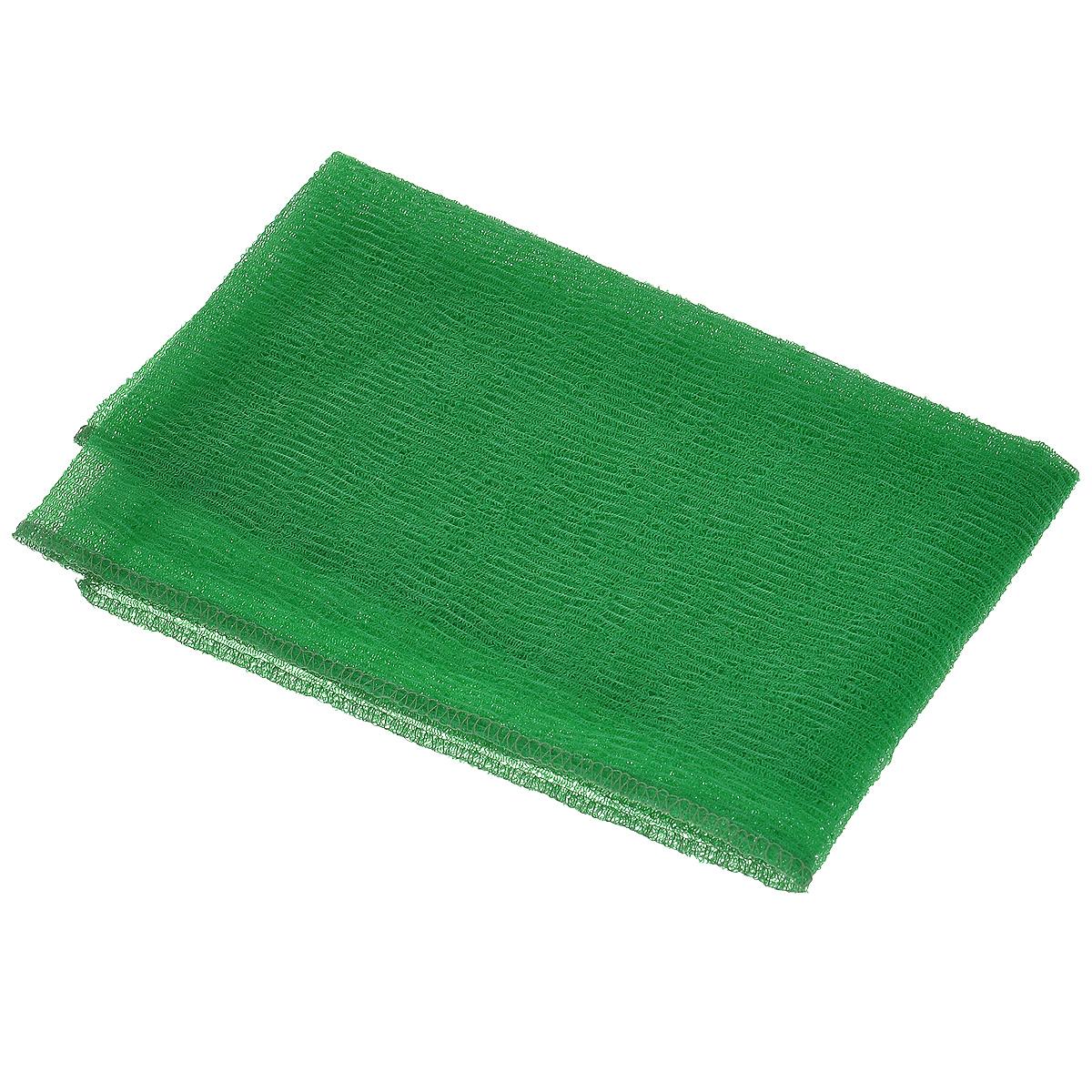 Мочалка-полотенце массажная Eva, цвет: зеленый, 90 см х 30 смМ341_зеленыйМочалка-полотенце массажная Eva, изготовленная из скраб-нейлона (многоволокнистой нейлоновой нити с объемным плетением), обладает высоким массажным эффектом. Мочалка с самым высоким уровнем жесткости обладает эффектом скраба, кожа становится чистой, упругой и свежей. Идеальна для профилактики и борьбы с целлюлитом.