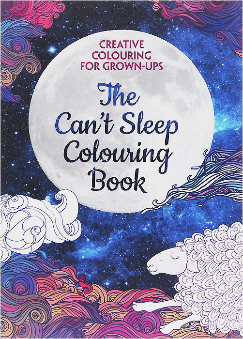 Купить The Can't Sleep Colouring Book