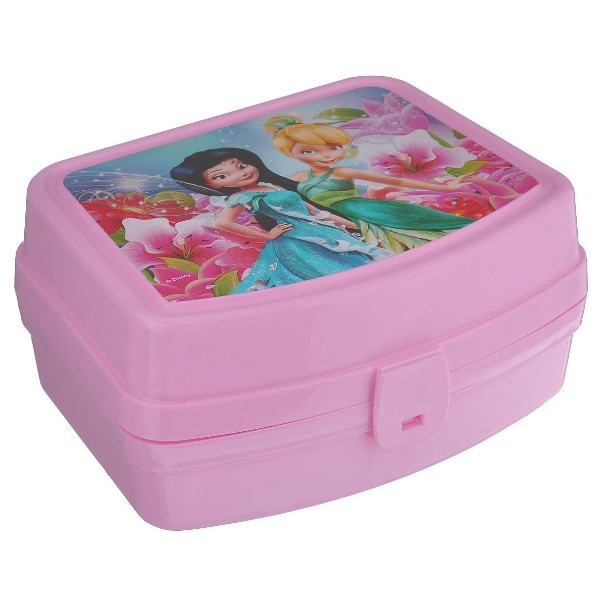 Контейнер Альтернатива Феи, цвет: розовый, 17 см х 14 см х 8 смМ3604Контейнер Альтернатива Феи выполнен из плотного пластика и имеет удобную крышку на пластиковой защелке.Этот контейнер очень универсален. В таком контейнере удобно хранить разнообразные продукты, брать с собой на работу, учебу. Он обеспечивает герметичность и надежность хранения продуктов. Также контейнер можно использовать хранения карандашей, ручек, фломастеров. Веселый дизайн контейнера порадует вашего ребенка.