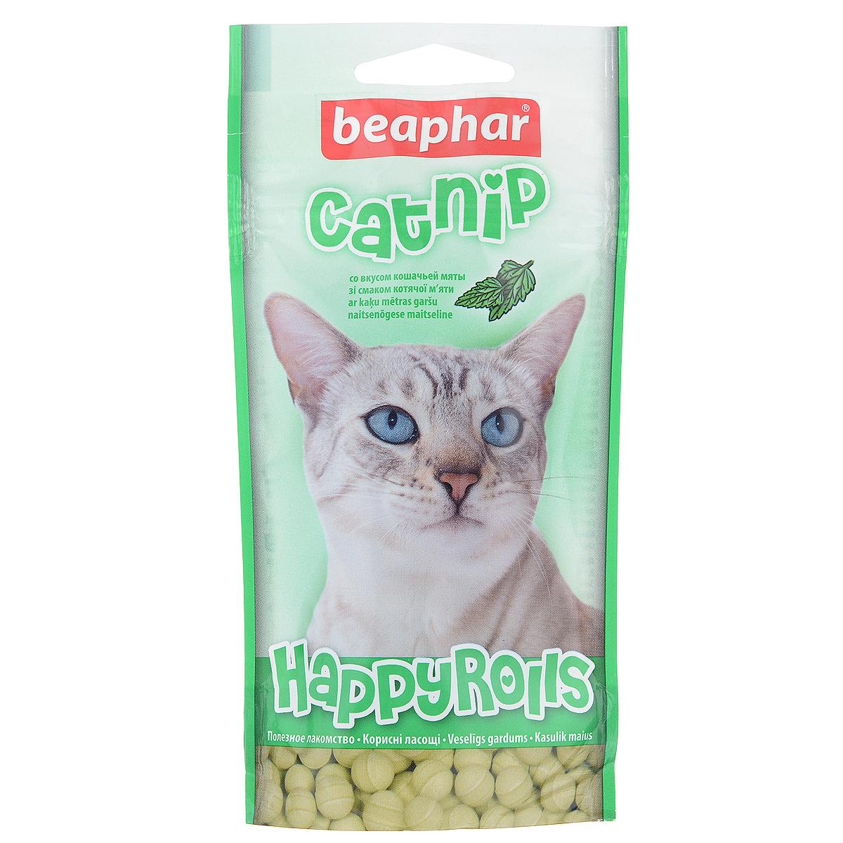 Лакомство для кошек Beaphar Catnip, с кошачьей мятой, 80 шт13186Лакомство Beaphar Catnip с кошачьей мятой предназначено для кошек. Лакомство улучшает настроение, а так же помогает уберечь кошку от стрессов. Содержит минералы, благотворно влияющие на организм кошек и котят. Таурин поддерживает хорошее зрение и здоровое сердце. Применять с 6 месячного возраста. Состав: молоко и молочные продукты (> 1,3% сыр), сахар, минеральные вещества, мясо и мясные субпродукты (> 1,3% печень), моллюски и ракообразные (> 1,3% креветки), дрожжи, продукты растительного происхождения (> 1,3% кошачья мята).Добавки: таурин - 313 мг/кг. Анализ: зола - 13,0%, протеин - 7,8%, клетчатка - 7,4%, влажность - 4,7%, жиры - 2,8%, кальций - 1,8%, фосфор - 1,3%, натрий - 0,2%, калий - 0,02%.Количество: 80 шт. Товар сертифицирован.