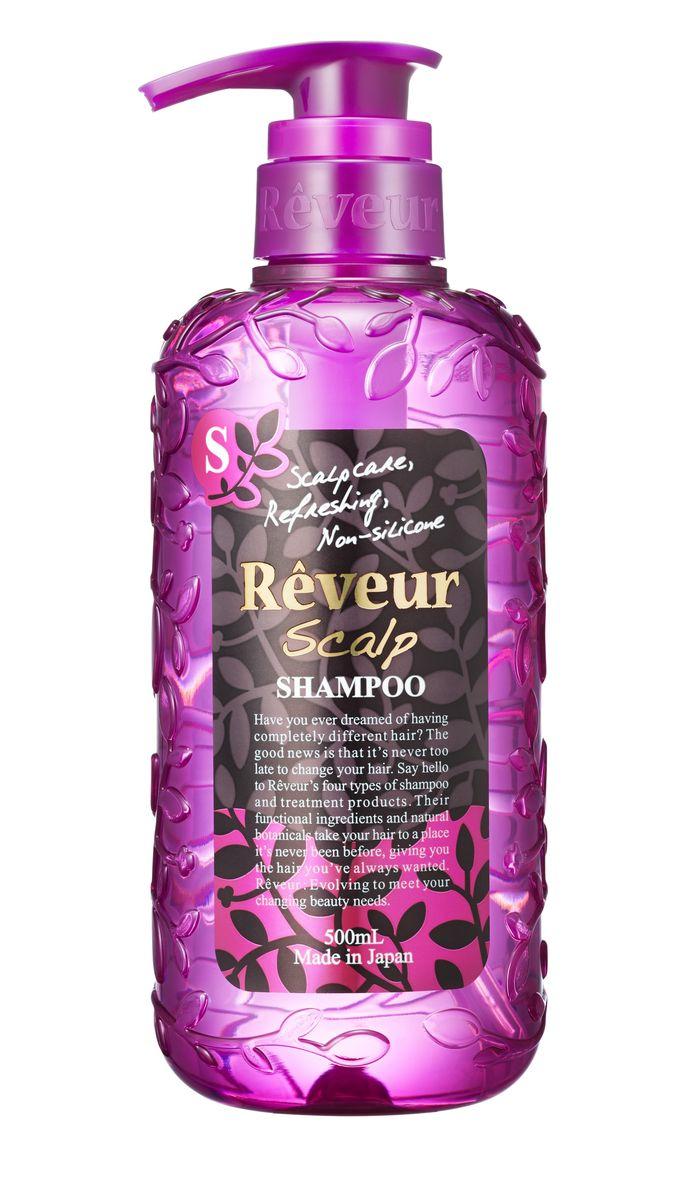 Reveur Шампунь Scalp Уход за корнями волос 500 мл703388Шампунь без силикона бережно очищает кожу головы и волосы, питая луковицы волос. 15 специально подобранных природных компонентов проникают вглубь кожи, стимулируя рост волос, восстанавливают кутикулу волоса, делая его вновь гладким и ровным. Легкая текстура шампуня позволяет надолго сохранять объем и укладку. Свежий воздушный аромат цитрусов и луговых трав.