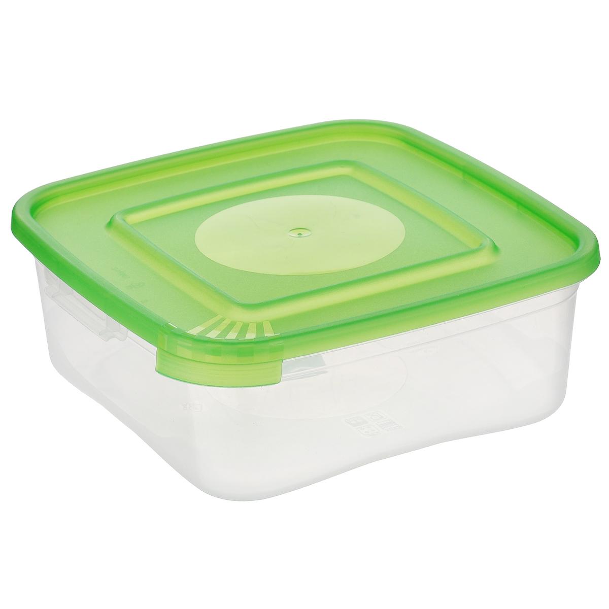 Контейнер для СВЧ Полимербыт Каскад, цвет: салатовый, 700 мл00555-007-01Контейнер для СВЧ Полимербыт Каскад изготовлен из высококачественного прочного пластика, устойчивого к высоким температурам (до +110°С). Стенки контейнера прозрачные, что позволяет видеть содержимое. Цветная полупрозрачная крышка плотно закрывается. Контейнер идеально подходит для хранения пищи, его удобно брать с собой на работу, учебу, пикник или просто использовать для хранения пищи в холодильнике. Можно использовать в микроволновой печи и для заморозки в морозильной камере. Можно мыть в посудомоечной машине.