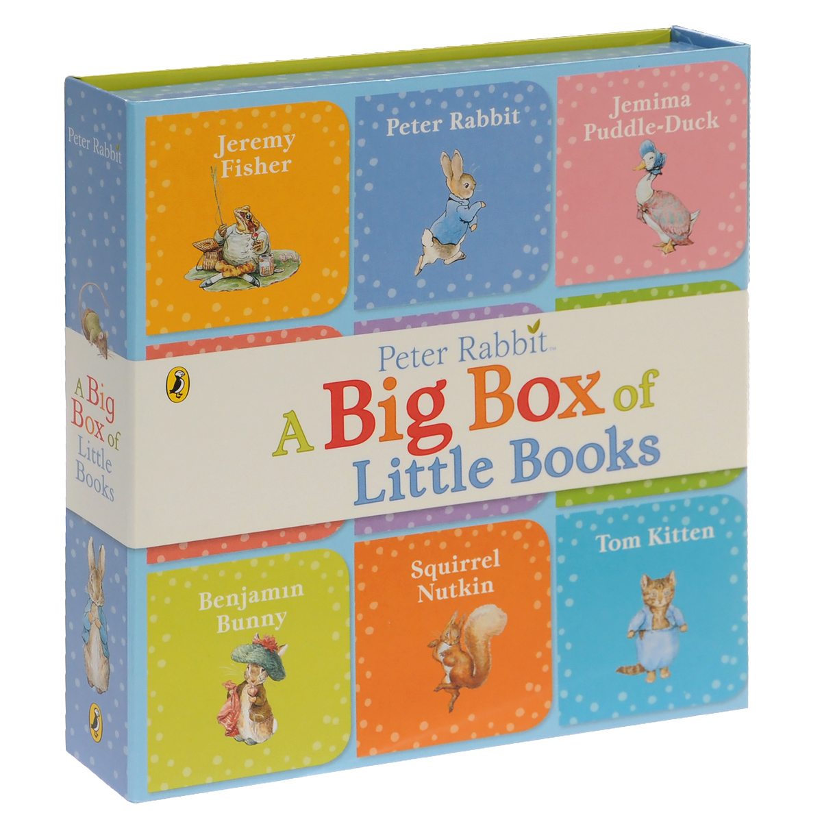 Peter Rabbit: A Big Box of Little Books (комплект из 9 книг) peter rabbit goes to the island activity book level 1