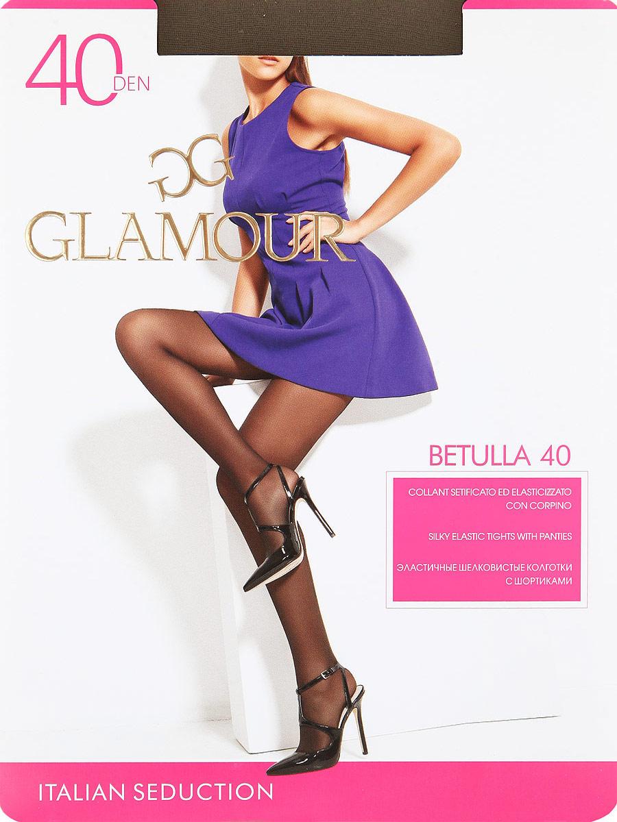 Колготки Glamour Betulla 40, цвет: Daino (загар). Размер 5 колготки giulia bikini размер 3 плотность 40 den daino