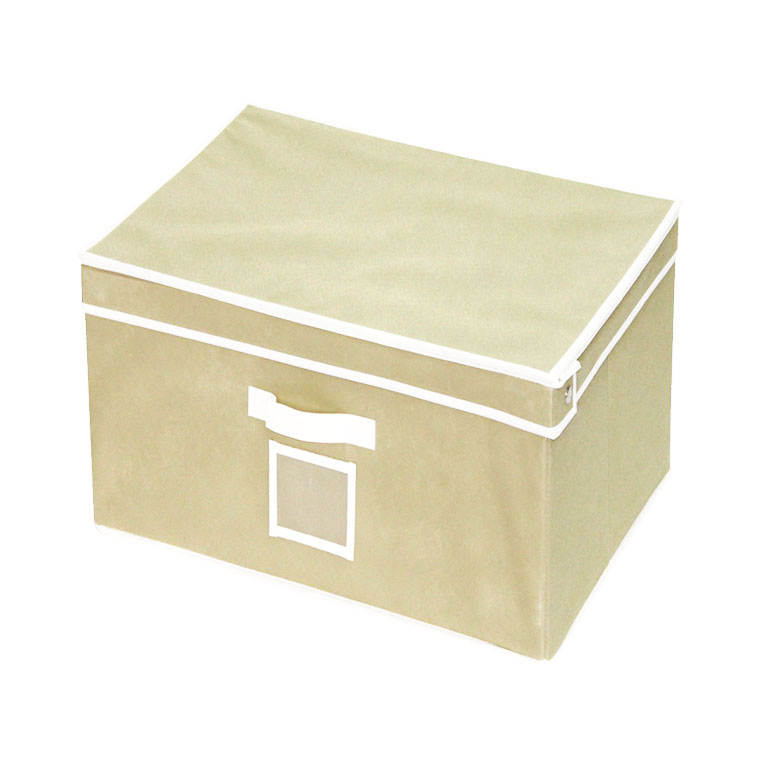 Кофр-короб для хранения Miollaс, ручкой, 38 x 25 x 56 см2507028UКофр-короб для хранения Miollaс представляет собой закрывающуюся крышкой коробку жесткойконструкции, благодаря наличию внутри плотных листов картона. Специально предназначен длязащиты вашей одежды от воздействия негативных внешних факторов: влаги и сырости, моли,выгорания, грязи. Благодаря оригинальному дизайну кофр будет гармонично смотреться в любоминтерьере.