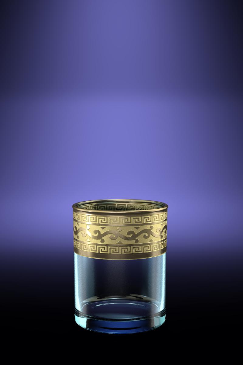 Набор стаканов для виски Гусь-Хрустальный Версаче 255 мл, 6 шт набор бокалов для бренди гусь хрустальный версаче 400 мл 6 шт
