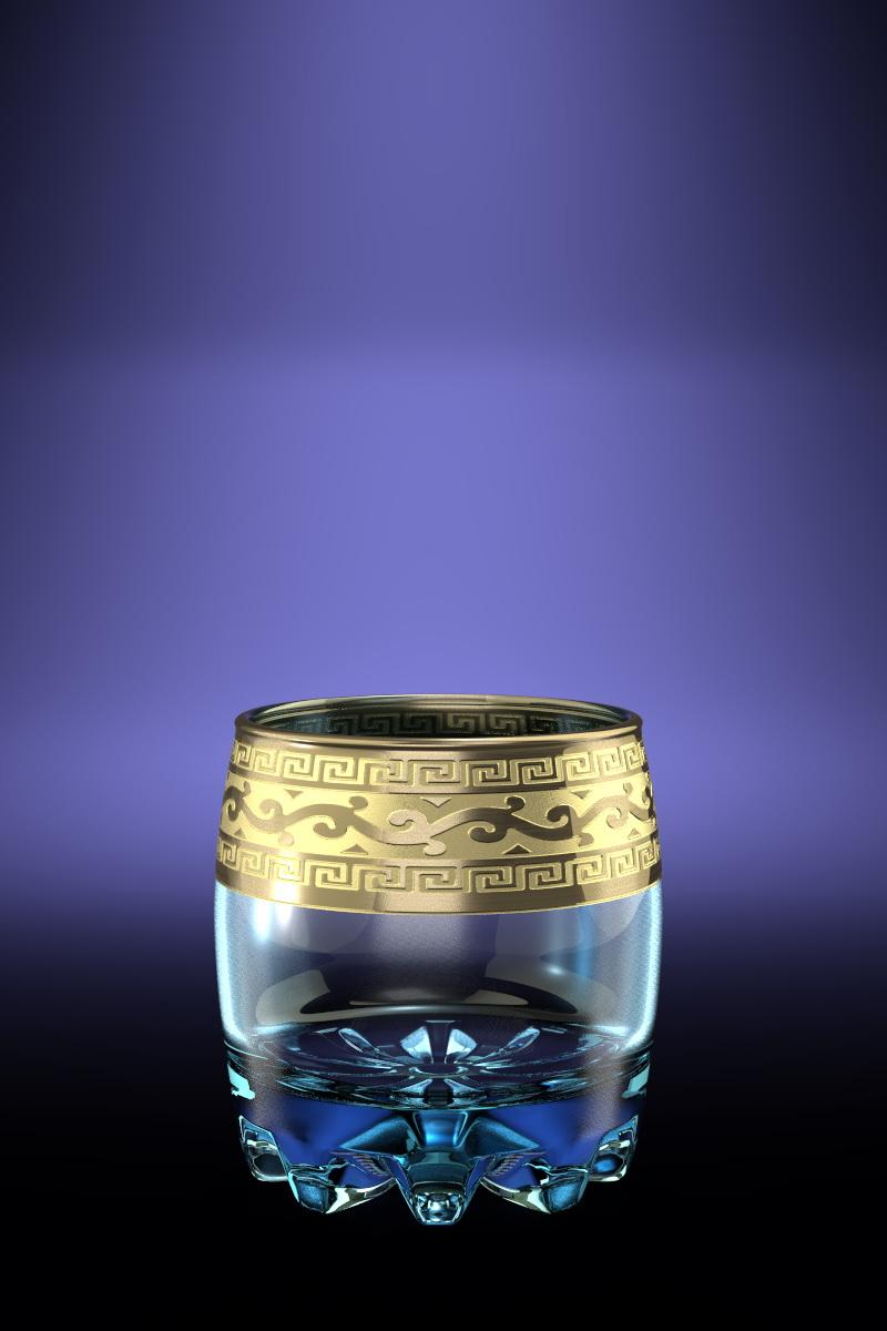 Набор стаканов для виски Гусь-Хрустальный Версаче, 305 мл, 6 шт набор бокалов для бренди гусь хрустальный версаче 400 мл 6 шт