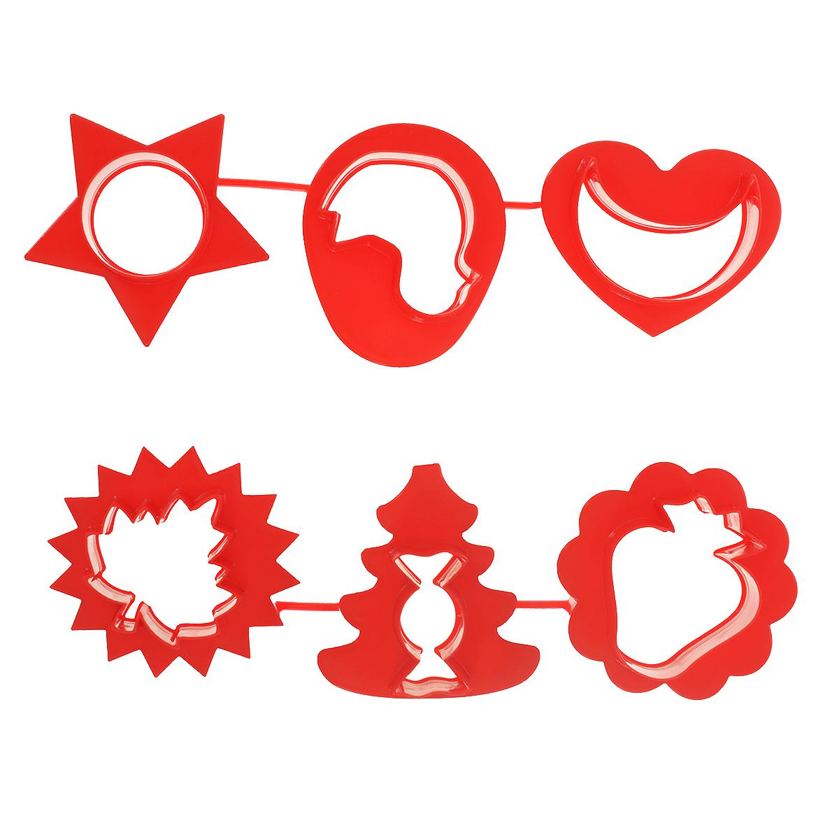 Формочки для лепки и моделирования Луч, цвет: красный, 6 шт22С 1420-08 красныйФормочки для лепки и моделирования Луч предназначены для моделирования и лепки из пластилина, мягкого воска, глины. При производстве формочек использованы полимеры, для которых разрешен контакт с пищевыми продуктами, поэтому их можно использовать так же в кулинарии.С помощью таких формочек вы легко создадите объемные фигуры.