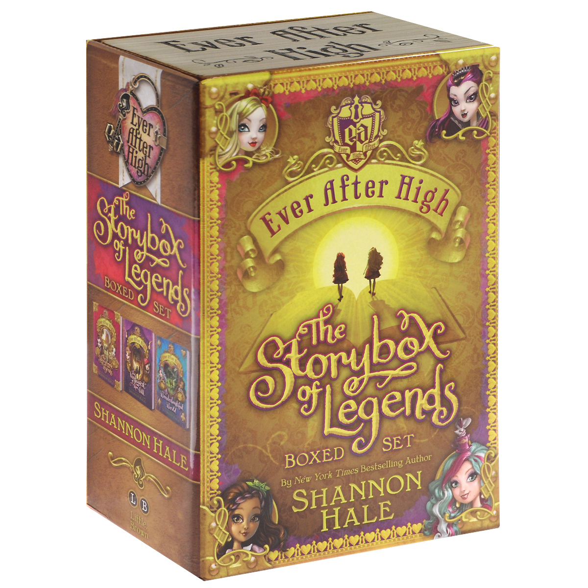 Ever After High: The Storybox of Legends (комплект из 3 книг) epidemiology of spasticity after first ever stroke