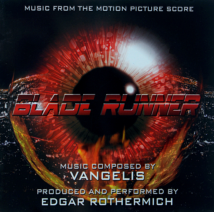 Vangelis. Blade Runner. Music From The Motion Picture Score the spy who loved me original motion picture score lp