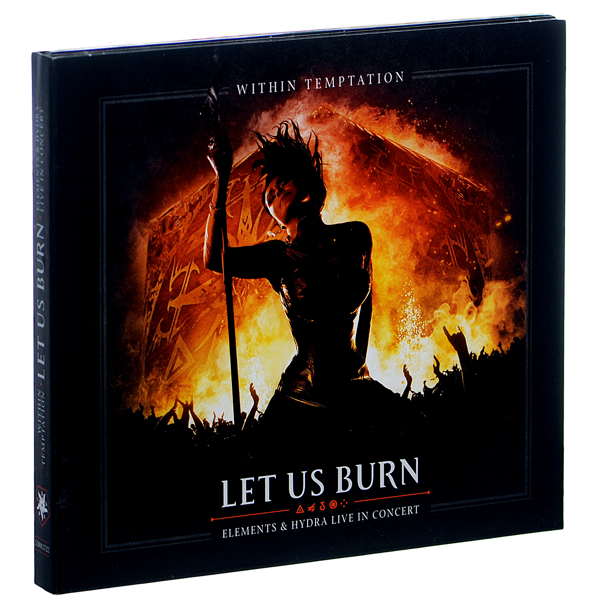 Within Temptation Within Temptation. Let Us Burn. Elements & Hydra Live In Concert (2 CD) within temptation within temptation let us burn elements