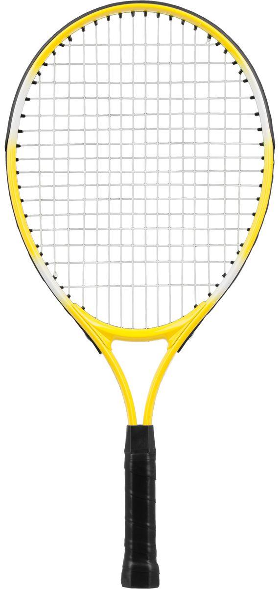 """Ракетка для тенниса Torneo """"Kids"""", цвет: желтый, 54 см"""