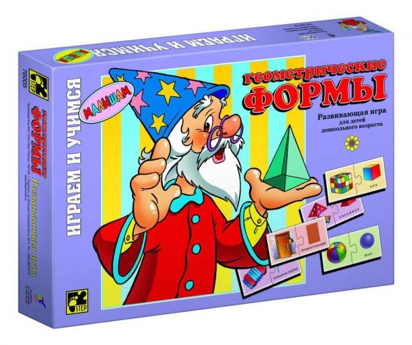 Step Puzzle Развивающая игра Геометрические формы игра step puzzle юный парфюмер 76307