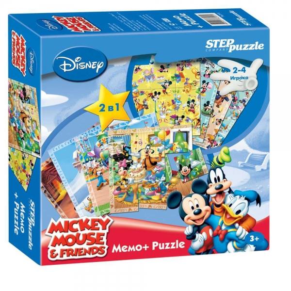 Step Puzzle Пазл для малышей Микки Маус 76201 игра головоломка professor puzzle ltd планета пазл астро 1580