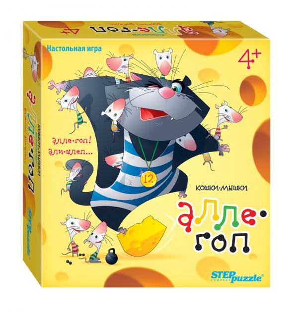 Step Puzzle Обучающая игра Кошки-мышки Алле гоп корвет обучающая игра удивляйка 1