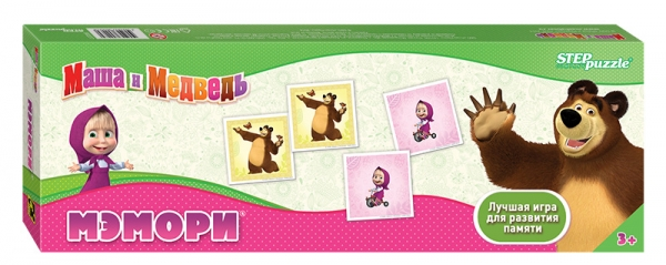 Step Puzzle Развивающая игра Маша и Медведь игра step puzzle юный парфюмер 76307