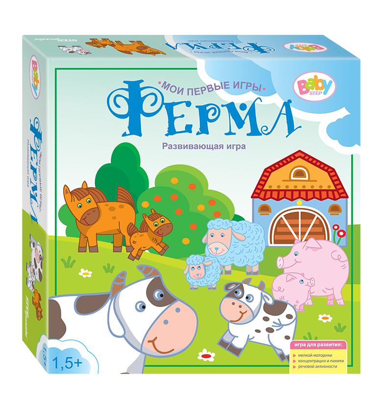 Step Puzzle Развивающая игра Ферма