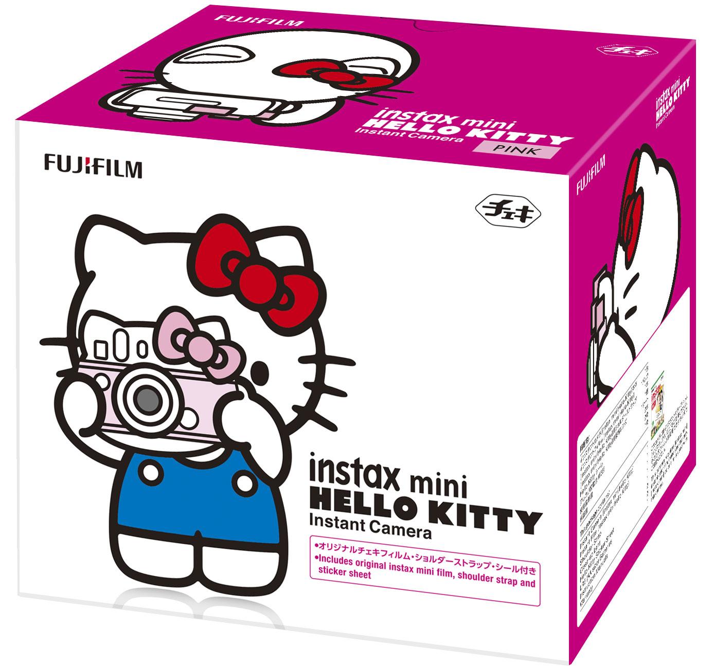 Fujifilm Instax Mini Hello Kitty, Pinkфотоаппарат моментальной печати Fujifilm