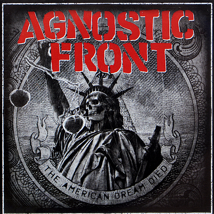 Agnostic Front Agnostic Front. American Dream Died lace up front tribal swimsuit