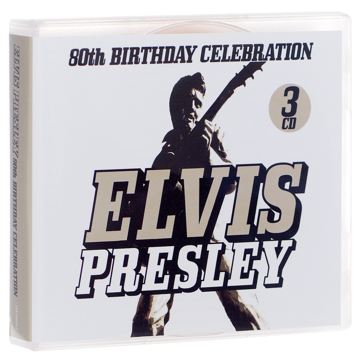 Элвис Пресли Elvis Presley. 80th Birthday Celebration (3 CD) cd диск presley elvis elvis sings 1 cd