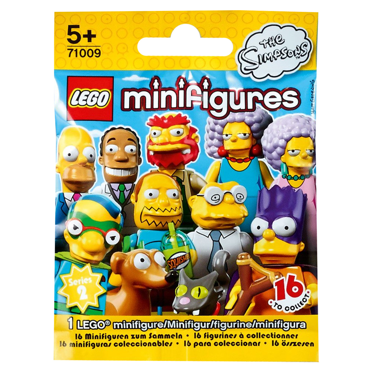 LEGO Minifigures Конструктор Simpsons 71009 max klim the killer children in history real events