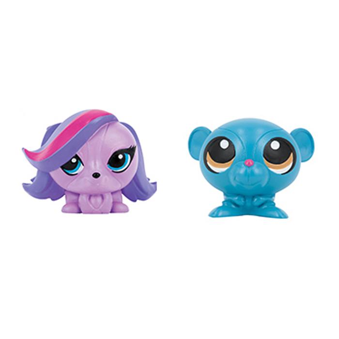 Littlest Pet Shop Игрушки-мялки Зоя Трент и Сунил Невла игровые наборы littlest pet shop стильный зоомагазин