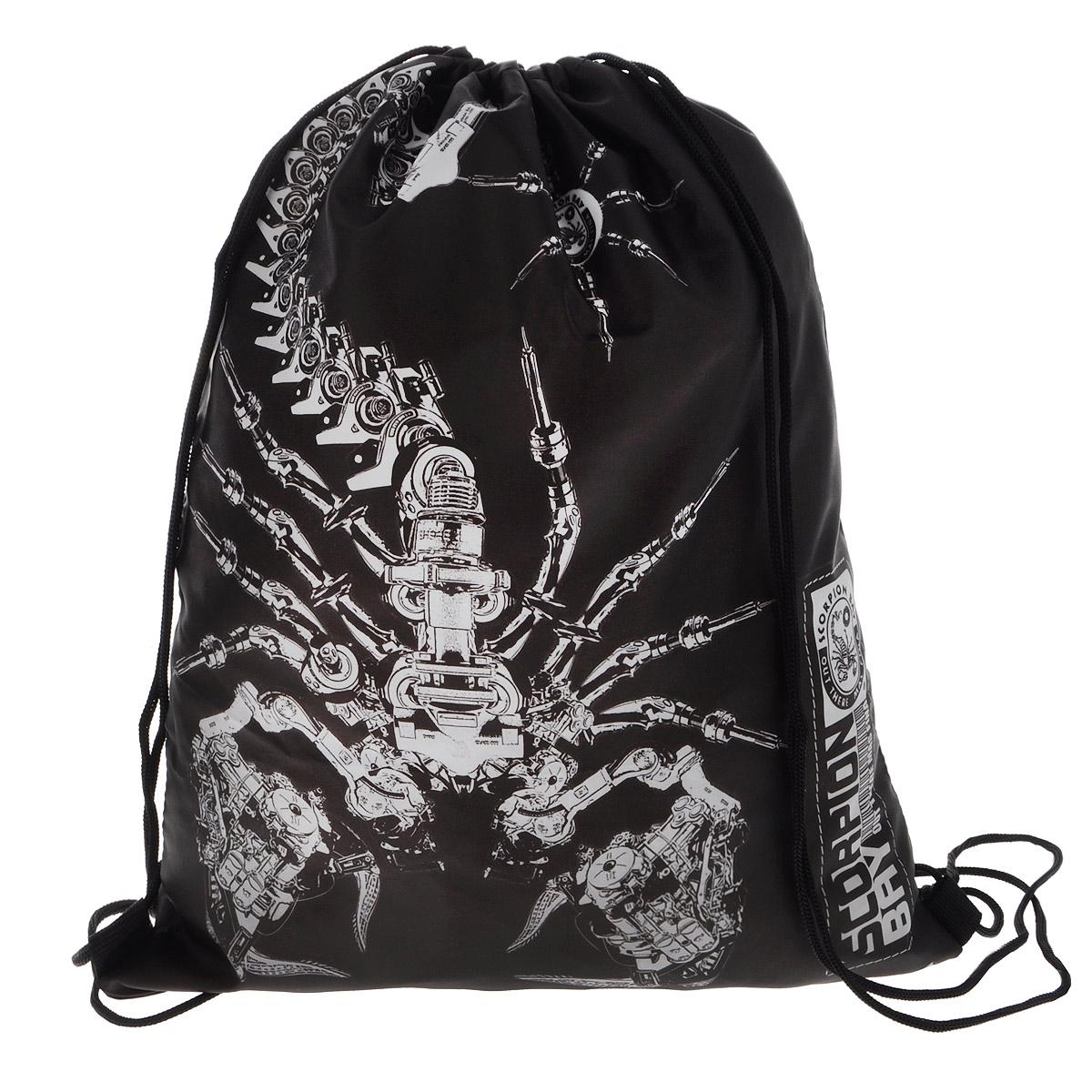 Scorpion Bay Сумка для сменной обуви цвет черный леггинсы scorpion bay леггинсы