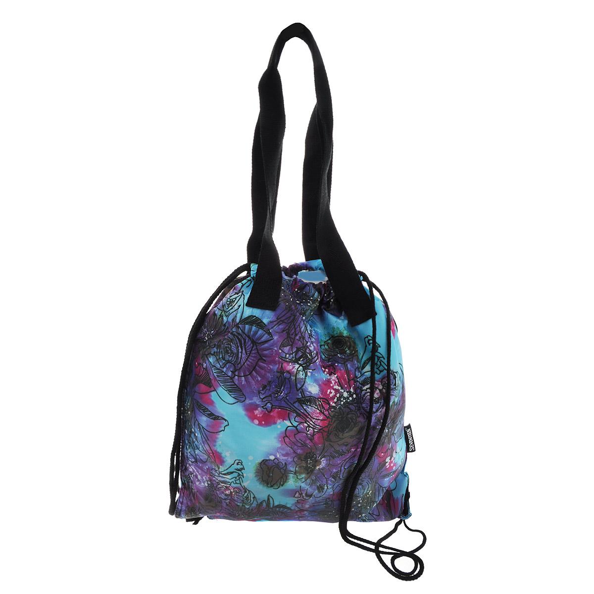 Seventeen Сумка-рюкзак для обуви с ручками цвет голубой SVCB-RT2-896