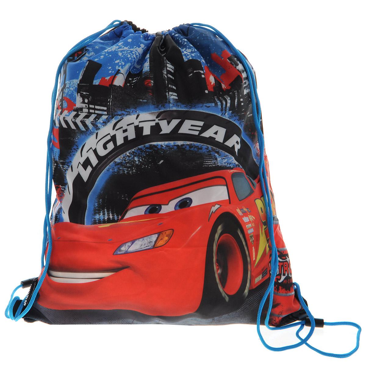 Cars Сумка-рюкзак для обуви цвет голубой красный CRCB-MT1-883 -  Ранцы и рюкзаки