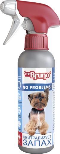 Спрей зоогигиенический для собак Mr. Bruno Нейтрализатор запаха, 200 мл mr bruno mr bruno ошейник репеллентный для собак 75 см зеленый