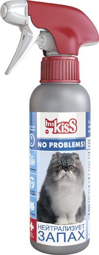 Спрей зоогигиенический Ms.Kiss Нейтрализатор запаха, для кошек, 200 млMK05-00310Средство Ms.Kiss Нейтрализатор запаха полностью удаляет все неприятные органические запахи и пятна от мочи, кала, а также крови, рвоты, жира, грязи, травы и пищевых продуктов. Подходит для использования на всех поверхностях. Спрей Ms.Kiss Нейтрализатор запаха относится к высокоэффективным средствам для содержания животных. Экологично, безопасно, действует 14 дней. Способ применения: Перед применением средства следует предварительно очистить загрязненную поверхность. Тщательно встряхнуть флакон, затем обработать спреем необходимую поверхность (при чистке ковров обработать пол под ковром для более эффективного устранения запаха). Средство начинает действовать через 30 минут и сохраняет свое действие 14 дней. Обработку следует повторять по мере необходимости. Меры предосторожности: внимание! Перед использованием обязательно протестировать поверхность на цветочувствительность. Нельзя распылять на поверхности, контактирующие с пищей. Не смешивать с другими средствами. Избегайте попадания средства в глаза. После процедуры обработки вымыть руки с мылом. Хранить флакон со спреем отдельно от пищевых продуктов, в местах, недоступных для детей и животных. Использовать только по назначению. Хранить при температуре от -5°С до +30°С. Состав: вода подготовленная, ферменты, поглотитель запаха, отдушка, консерванты. Объем: 200 мл.Товар сертифицирован.