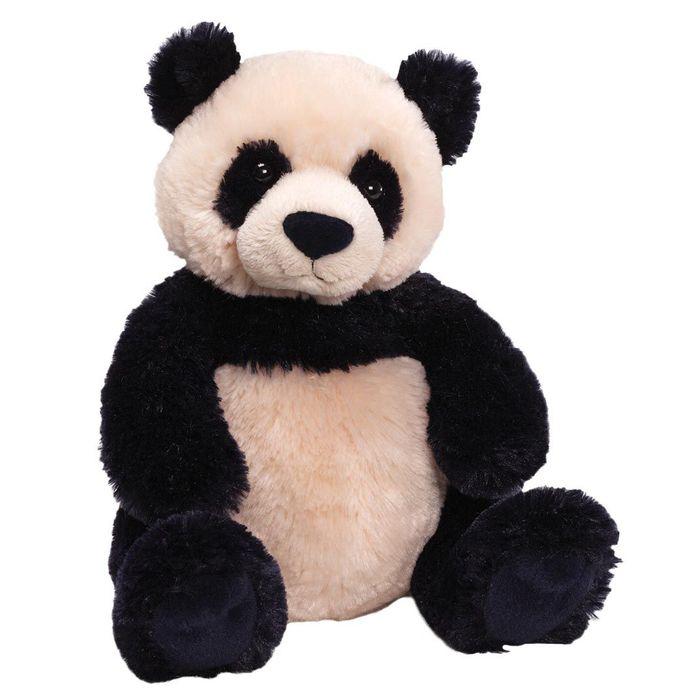 Игрушка мягкая Gund Zi Bo Panda, цвет: черный, бежевый, 29 см. 320707 gund мягкая игрушка perry bear 40 5 см
