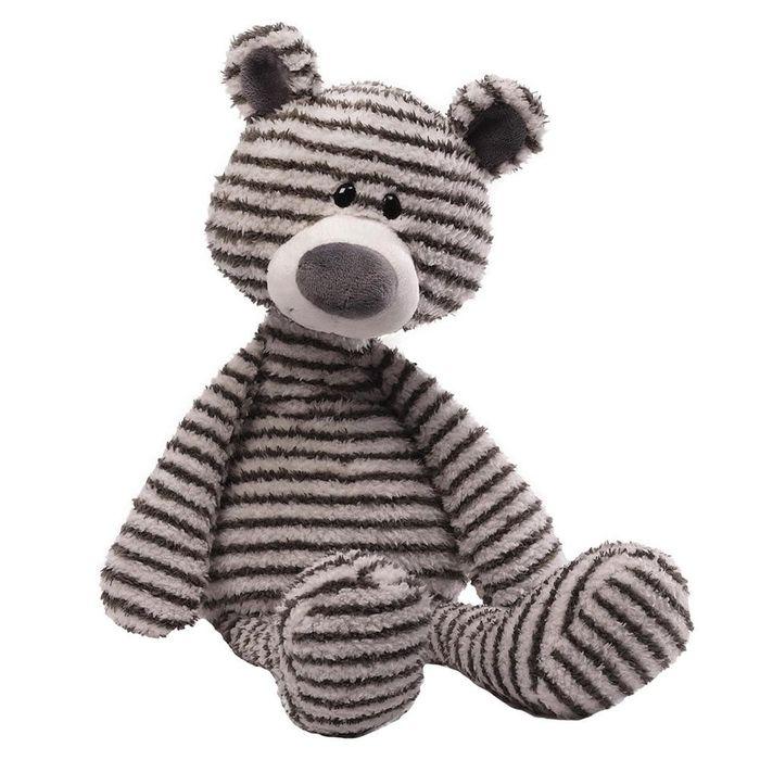 Игрушка мягкая Gund Zag, цвет: серый, белый, 40 см. 4044071
