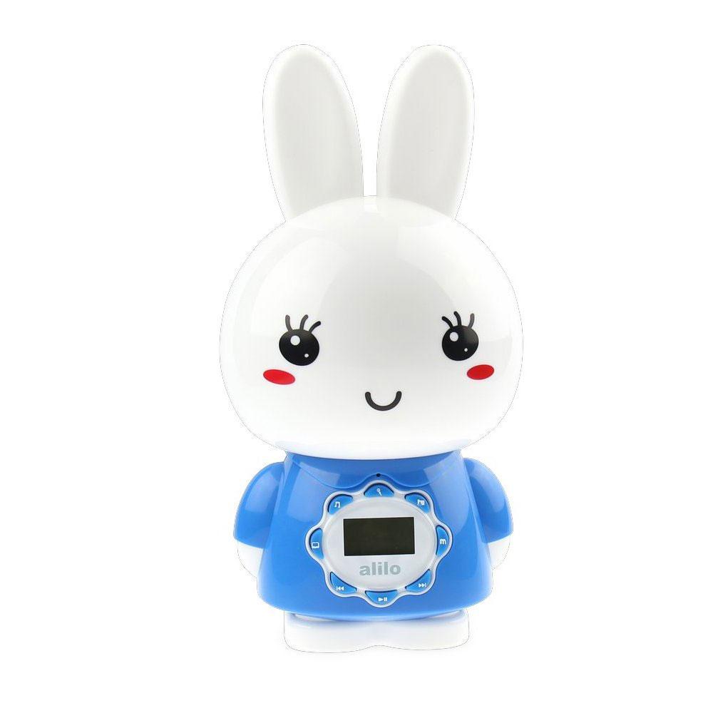 Alilo Музыкальная игрушка-ночник Большой зайка цвет синий игрушка alilo v8 классный зайка blue 60903