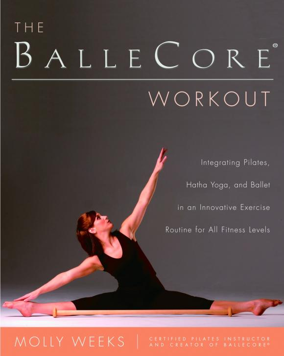 The BalleCore® Workout racer back padded workout bra