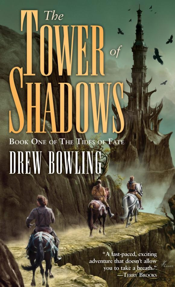 The Tower of Shadows shadows on the mountain