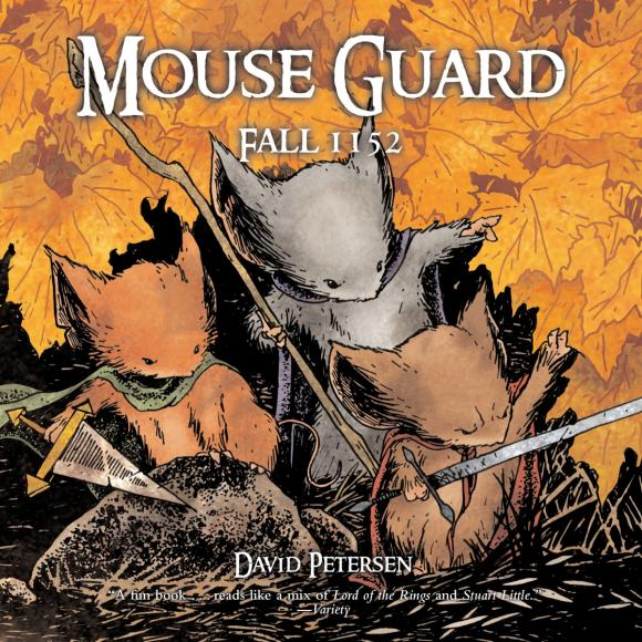 Mouse Guard: Fall 1152 bulgakov m the white guard