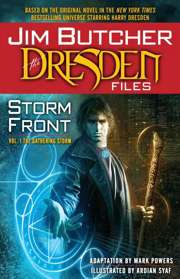 Jim Butcher: The Dresden Files: Storm Front: Vol. 1: The Gathering Storm sting dresden