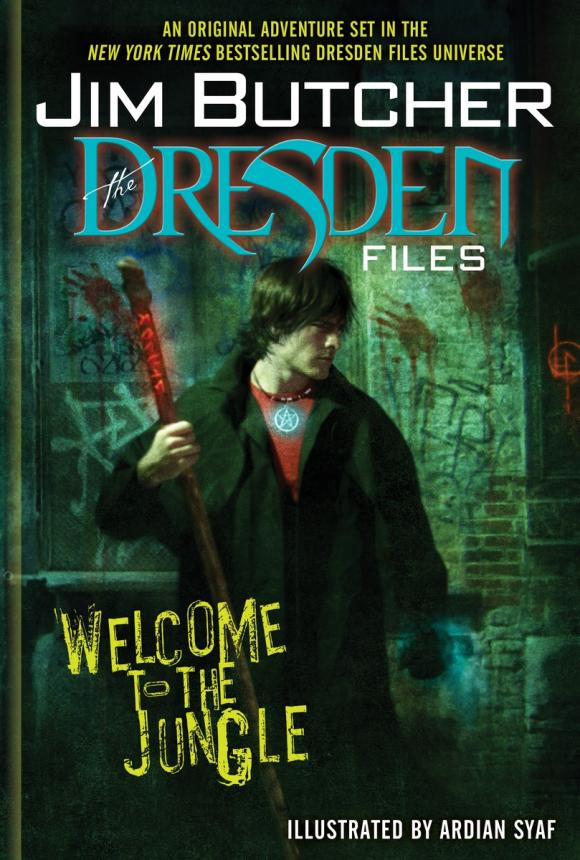 The Dresden Files: Welcome to the Jungle sting dresden