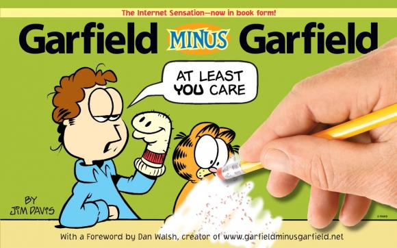 Garfield Minus Garfield garfield says a mouthful