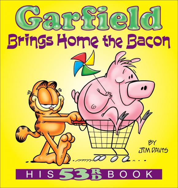 Garfield Brings Home the Bacon francis bacon in the 1950s