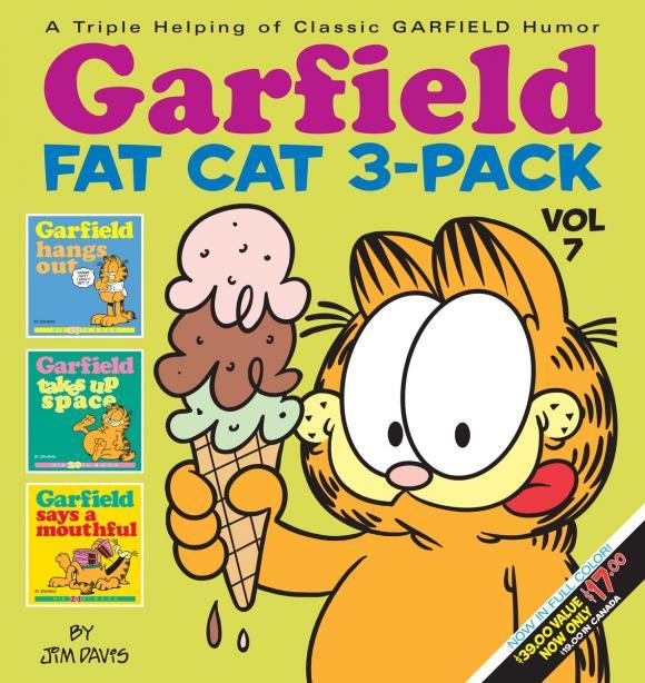 Garfield Fat Cat 3-Pack #7 таймер claber aquauno pratico 8000625084258